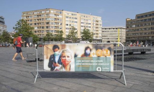 La situation épidémiologique continue de s'améliorer à Bruxelles