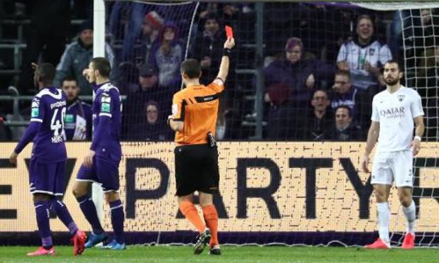 Jupiler Pro League - Eupen rejette la proposition de suspension pour Amat après sa rouge à Anderlecht