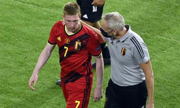 Kevin De Bruyne et Eden Hazard toujours absents de l'entraînement jeudi