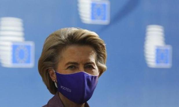 Von der Leyen moet de Europese top al meteen verlaten na coronabesmetting bij medewerker