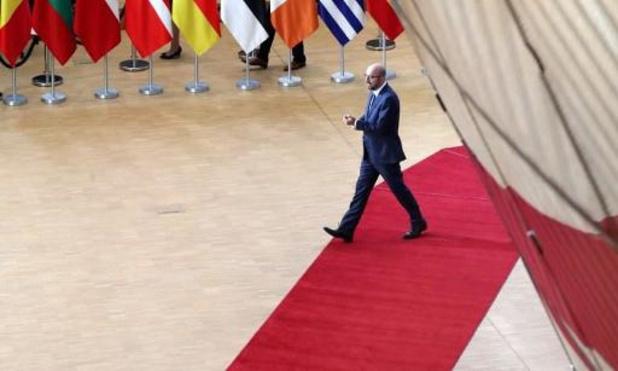 Le dialogue sur l'élargissement doit se poursuivre, estime Charles Michel