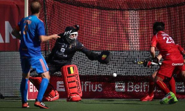 """Euro de hockey - Vincent Vanasch souhaite """"terminer sur une bonne note contre l'Angleterre"""""""