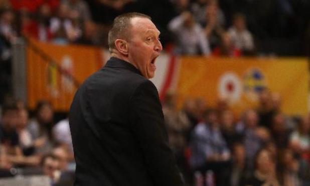 Belgian Cats: malgré la victoire contre la Serbie, Philip Mestdagh critique sur plusieurs points