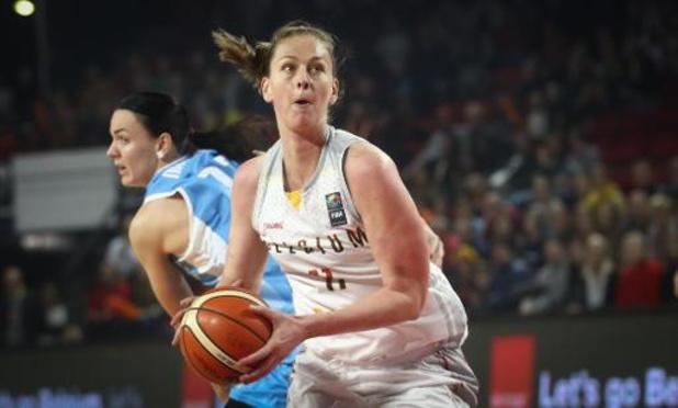 Kwal. EK 2021 basket (v) - Belgian Cats openen met zege tegen Oekraïne