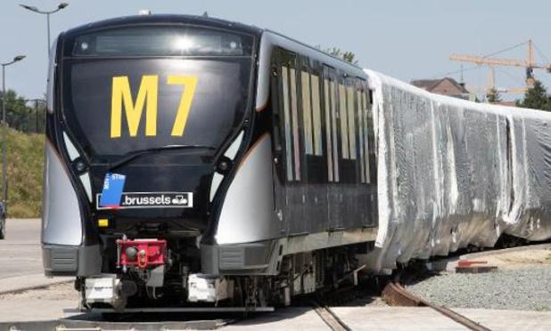 Driekwart van de Brusselaars wil graag verlening van de metrolijnen