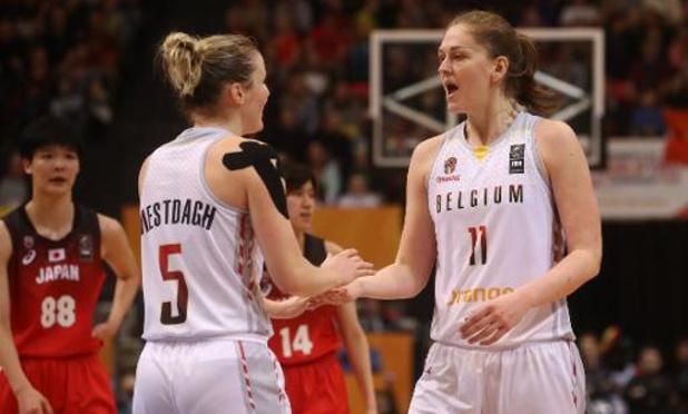 OKT basket (v) - Belgian Cats winnen wel van Japan