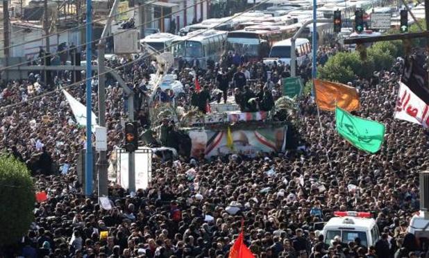Iran: marée humaine à Ahvaz pour l'adieu au général Soleimani