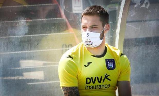 Anderlecht laat doelman Didillon naar Cercle vertrekken