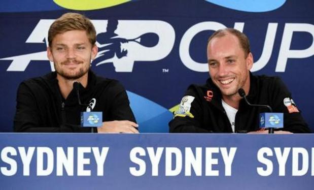 ATP Cup - Goffin klopt Albot in twee sets