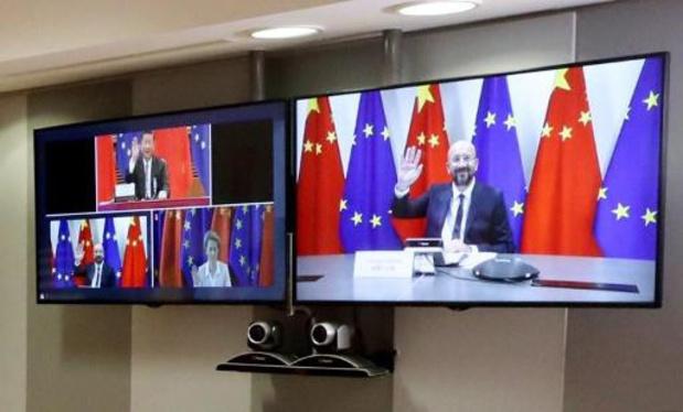 Europese Unie en China houden maandag digitaal topoverleg