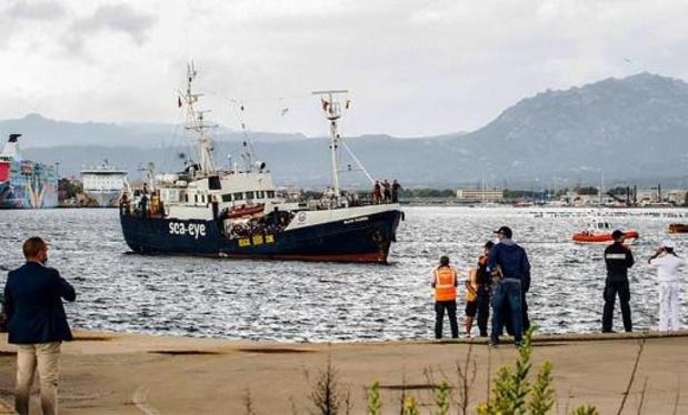 Italië legt reddingsschip Alan Kurdi aan de ketting