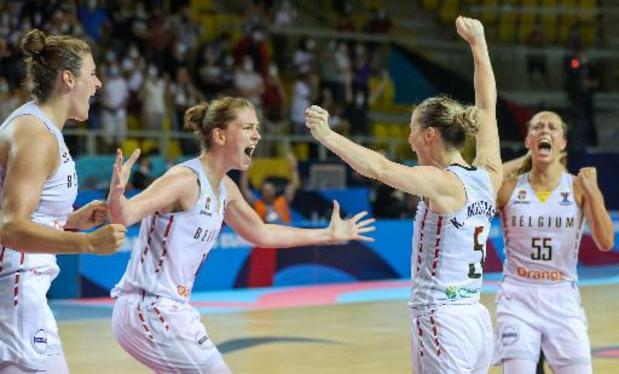 Euro de basket féminin - Emma Meesseman super tsar, la Belgique en demi-finale