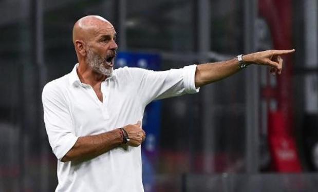 Serie A - L'AC Milan prolonge finalement son entraîneur Stefano Pioli jusqu'en 2022