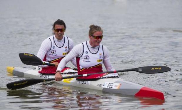 OS 2020 - Hermien Peters en Lize Broekx moeten naar kwartfinales