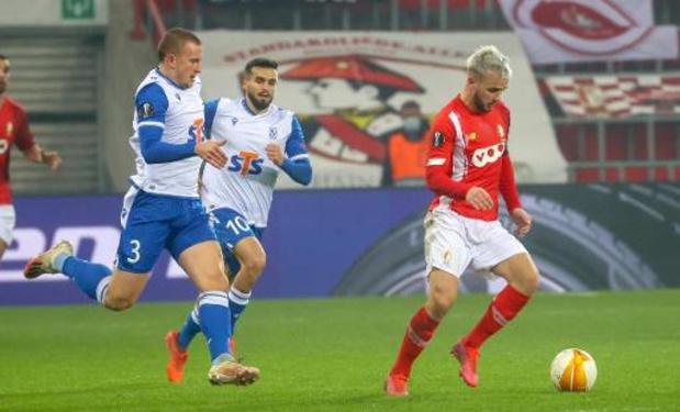 Europa League - Standard pakt in extremis driepunter tegen Lech Poznan en mag nog hopen op kwalificatie