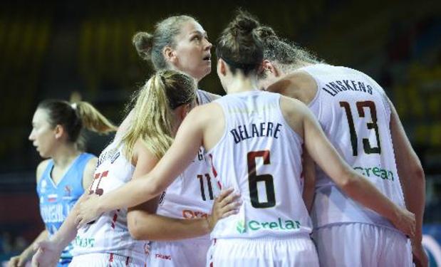 Euro de basket féminin - Tous les scénarios possible encore pour les Belgian Cats dimanche face à la Turquie