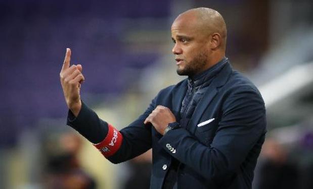 L'Anglais Aaron Danks nouvel assistant de Vincent Kompany à Anderlecht