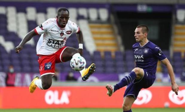 Jupiler Pro League - Anderlecht accroché de justesse par Mouscron pour la première de Kompany