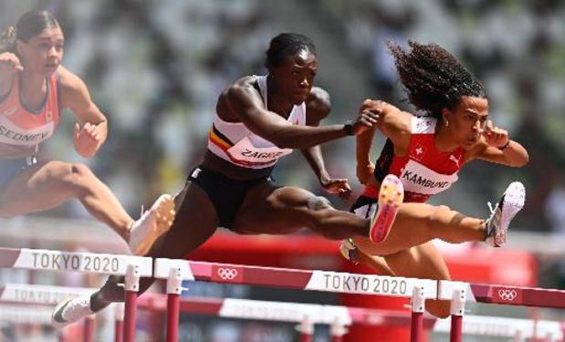 JO 2020 - Anne Zagré en demi-finales du 100 m haies