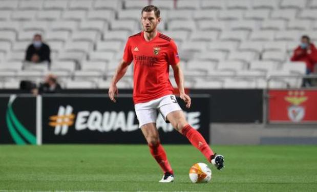 Benfica vient au Standard pour gagner et finir en tête du groupe, selon Jan Vertonghen