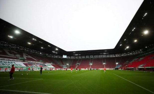 Bundesliga - Augsburg en FC Keulen delen de punten in slotwedstrijd 30e speeldag