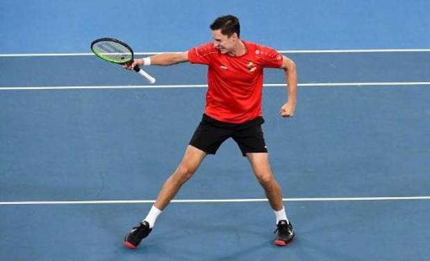 Joran Vliegen bat Venus Williams au premier tour du double mixte à l'Open d'Australie
