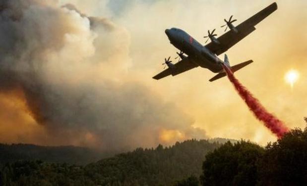 Vier doden bij bosbranden in Californië