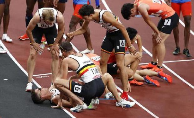 OS 2020 - Jonathan Borlée mist met hamstringblessure finale met Belgian Tornados
