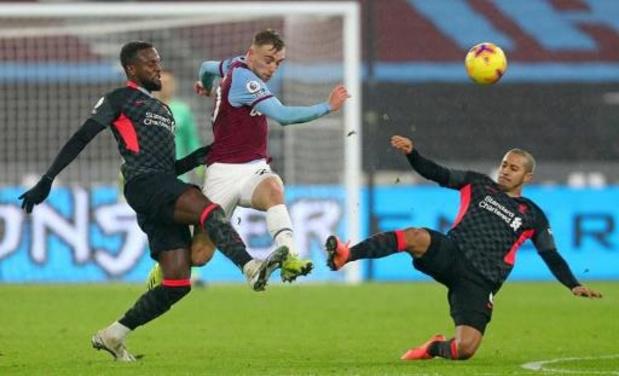 Les Belges à l'étranger - Liverpool et Origi réussissent la bonne opération en gagnant à West Ham