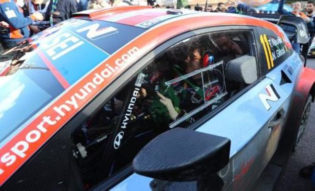 Thierry Neuville (Hyundai) espère qu'il va tout de même neiger au Rallye de Suède