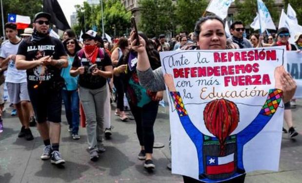 Emeutes au Chili - Nouveaux incidents violents au Chili lors de manifestations