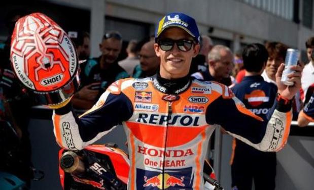 L'Espagnol Marc Marquez s'impose au GP d'Aragon et s'envole vers le titre