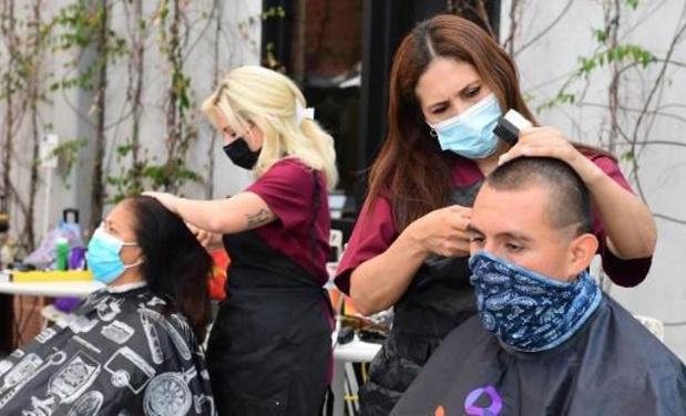 Kappers en schoonheidsspecialisten willen ook van de mondmaskers af