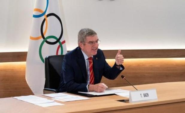 """Les Jeux de Tokyo se tiendront cet été, """"pas de plan B"""" selon Thomas Bach"""