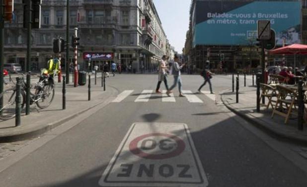 Une campagne d'information sur le passage à 30 km/h à Bruxelles