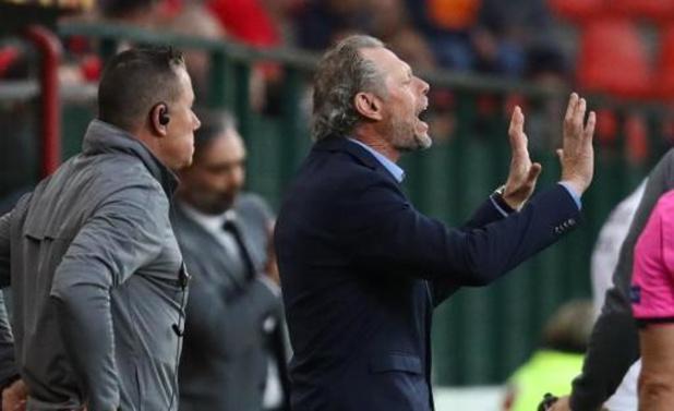 Europa League - Preud'homme satisfait des trois points au terme d'une partie compliquée