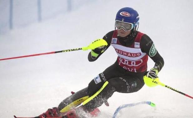 Mikaela Shiffrin gagne à Levi et s'offre le record de victoires en slalom
