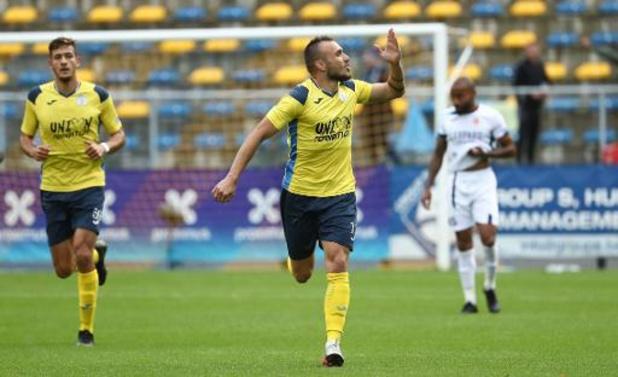 Proximus League - L'Union provisoirement en tête grâce à son succès contre Virton