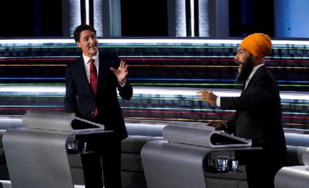 Canadese premier onder druk in laatste debat voor verkiezingen