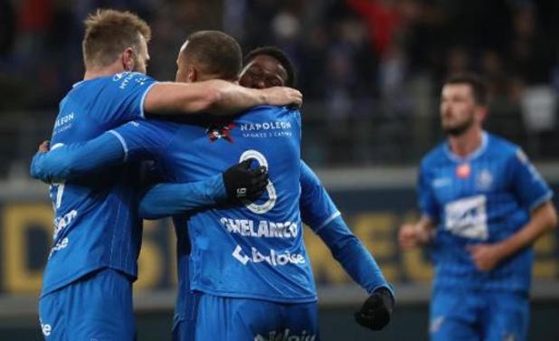 Jupiler Pro League - La Gantoise prend le dessus sur Mouscron (3-1) et passe devant Charleroi au classement