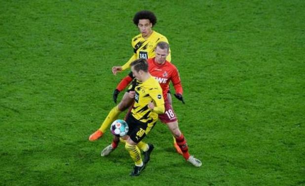 Bornauw et Cologne battent Dortmund malgré un but de Hazard, Mangala battu bar le Bayern