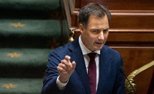 """""""Pas de marge pour de nouveaux incidents"""", déclare De Croo à propos d'Ihsane Haouach"""