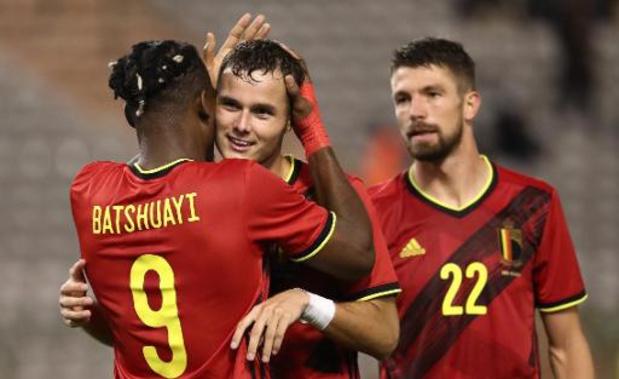 Rode Duivels - Martinez looft houding van spelers in gelijkspel tegen Ivoorkust