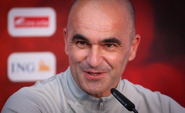 Martinez: 'Axel Witsel wordt betrokken bij wedstrijd tegen Denemarken'