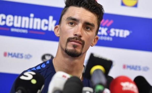 """Alaphilippe voelt zich """"frisser"""" dan voor Ronde van Vlaanderen"""