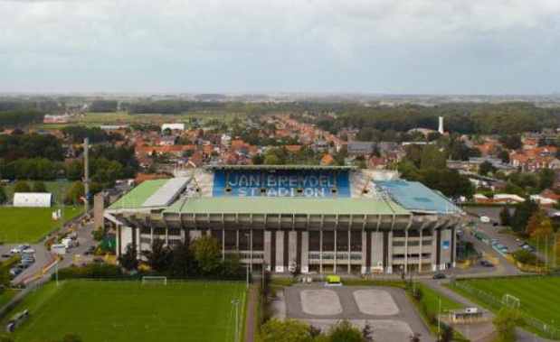 Le Club Bruges va construire un nouveau stade sur le site du stade Jan Breydel