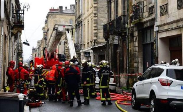 Explosion à Bordeaux: la personne disparue retrouvée décédée sous les décombres, selon la préfecture