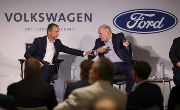 Ford en Volkswagen gaan samenwerking aan voor bedrijfswagens