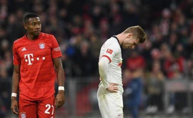 Bundesliga - Pas de vainqueur, ni de but, dans le match au sommet Bayern Munich - RB Leipzig