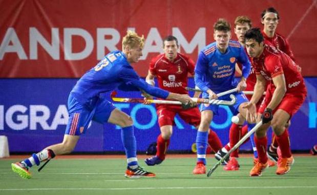 Red Lions spelen gelijk tegen Nederland, pakken wel bonuspunt